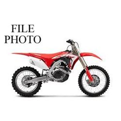 HONDA CRF 450R DIRT BIKE