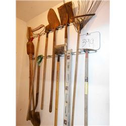 Lawn and Garden Tools Lot