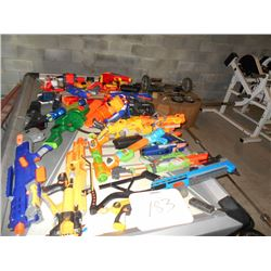 Asstd. Nerf Toy Gun Collection (Over 25 Guns)