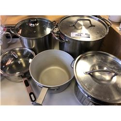 Assorted Professional Grade cookware