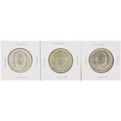 Set of (3) 1946 Booker T Washington Centennial Commemorative Half Dollar Coins