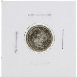 1884 3 Cent Nickel Coin