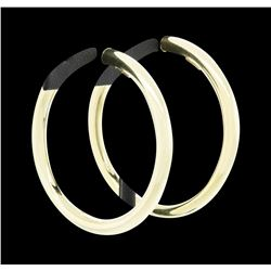 14KT Yellow Gold Hoop Earrings