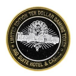 .999 Silver Rio Suite Hotel & Casino Las Vegas, NV $10 Limited Edition Gaming To