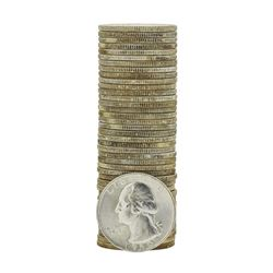 Roll of (40) 1960-D Brilliant Uncirculated Washington Quarters