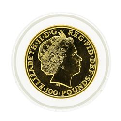 2014 Great Britain 1 oz. Year of the Horse Gold Coin