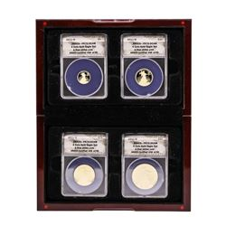2011-W American Gold Eagle (4) Coin Proof Set ANACS PR70DCAM First Strike