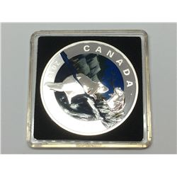 2016 Canada Proof 20$ Pur Silver -Geometry in Art-The Beaver