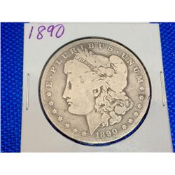 1890 USA Silver Morgan Dollar