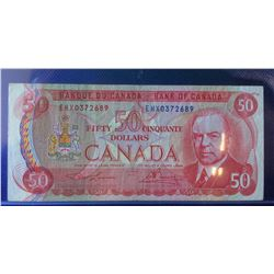 1975 Bank of Canada EHX0372689 replacement Note-Lawson-Bouey