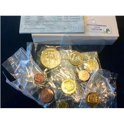 2003 United Kingdom Pattern- Euro Coin Collection