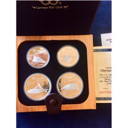 1976 Montreal Sterling Silver Olympic Proof Set - Serie VII