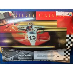 Canada Stamps- Jacques Villeneuve, Stamps and First Day Cover
