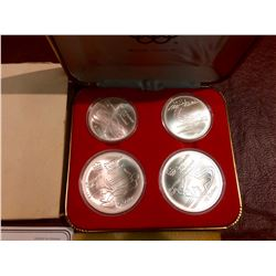 1976 Montreal Sterling Silver Olympic Proof Set - Serie V