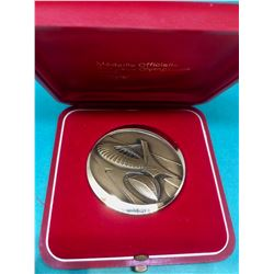 1976 Vintage Bronze Olympic Games Medaillion 58,66 gr