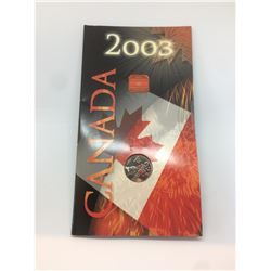 2003 Canada Special Coloured 25-cent Coin