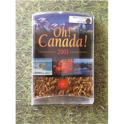 2001 Oh Canada Coin Set