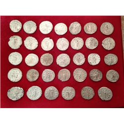 Estate Sale: Treasure of 34 Antoniniens - With Certificat- Gordien III (majority), Philippe Ier, Phi