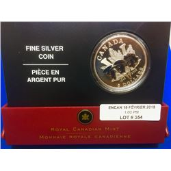 1945-2005 MRC Canada Proof 5 Dollars-60 th Anniversary of the End of the Second  War