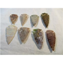 Lot of 6 Arrowheads