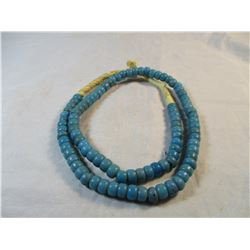 Large strand Blue Padre Trade Beads