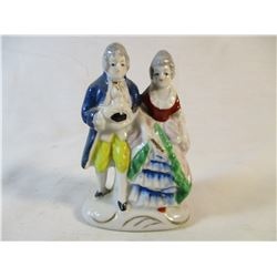 "Occupied Japan Figurine Couple 3 1/2"" Tall"