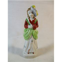 "Occupied Japan Girl Figurine 5 1/2"" Tall"