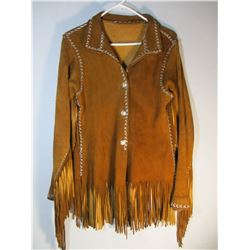 Very Nice Hand Native American Made Scout Coat