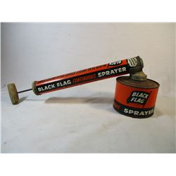 Vintage Black Flag Bug Sprayer 1950's