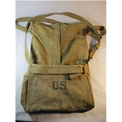 WWI US Military Canvas Horse Feed Bag