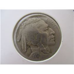 1937 Buffalo Nickel Very Nice