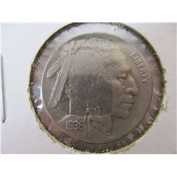 Very Nice 1936 Buffalo Nickel