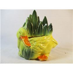 1954 McCoy Pottery Duck Planter Cold Paint