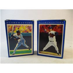 2 Boxes 1989 Sore Scoremasters Baseball Cards 94 Cards Total