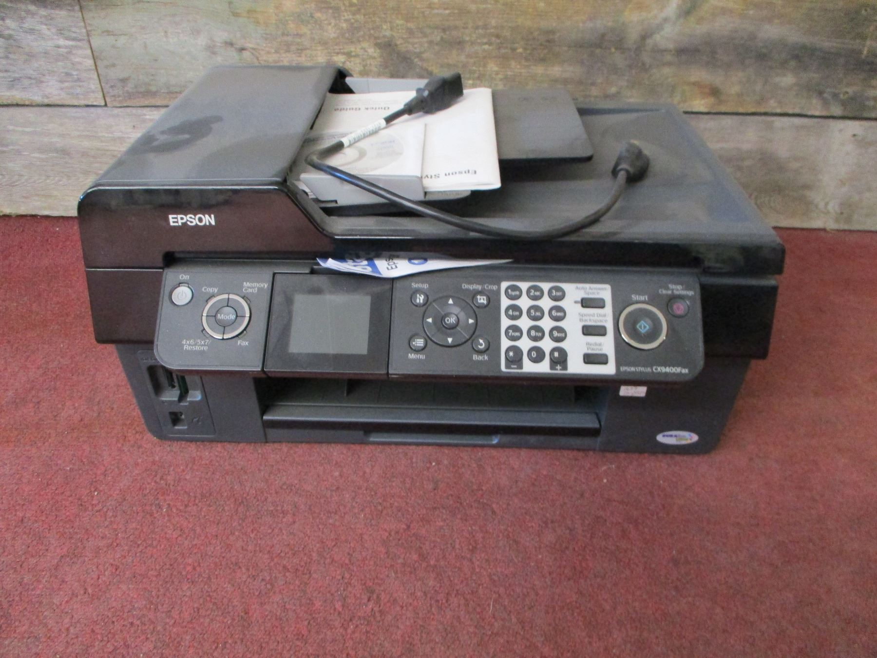 Epson Stylus CX9400Fax Driver Download Software for Windows