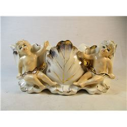 Vintage 1940's Royal Sealy Japan Cherub Dish
