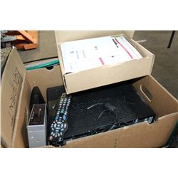 BOX OF VARIOUS CABLE BOXES