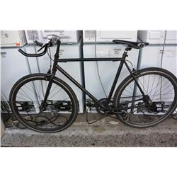 BLACK NO BRAND ROAD BIKE