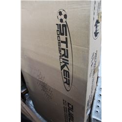 "STRIKER DUAL 56"" FOOSEBALL TABLE NEW IN BOX"