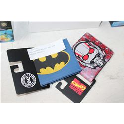 NEW BATMAN WALLET AND NEW ANTMAN WALLETS