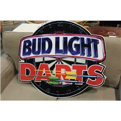 BUDLIGHT DARTS TIN SIGN