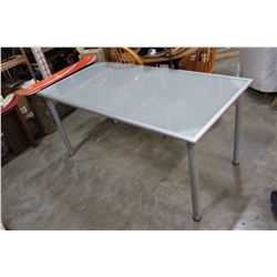 GLASSTOP IKEA DINING TABLE