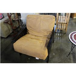 WOOD FRAMED RECLINING CHAIR