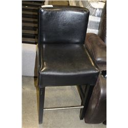 NEW LEATHER BAR STOOL