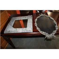 METAL ART ORAL AND INSPIRATIONAL MIRROR