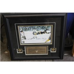BOBBY ORR THE GOAL PRINT WITH CERTIFICATE