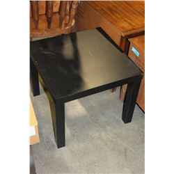 BLACK IKEA ENDTABLE