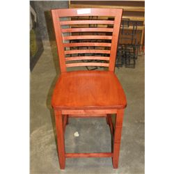 NEW LADDER BACK STYLE BAR STOOL