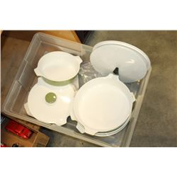 CORNING WARE BAKE WARE SET