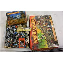 BOX OF WARHAMMER FANTASY MODELS
